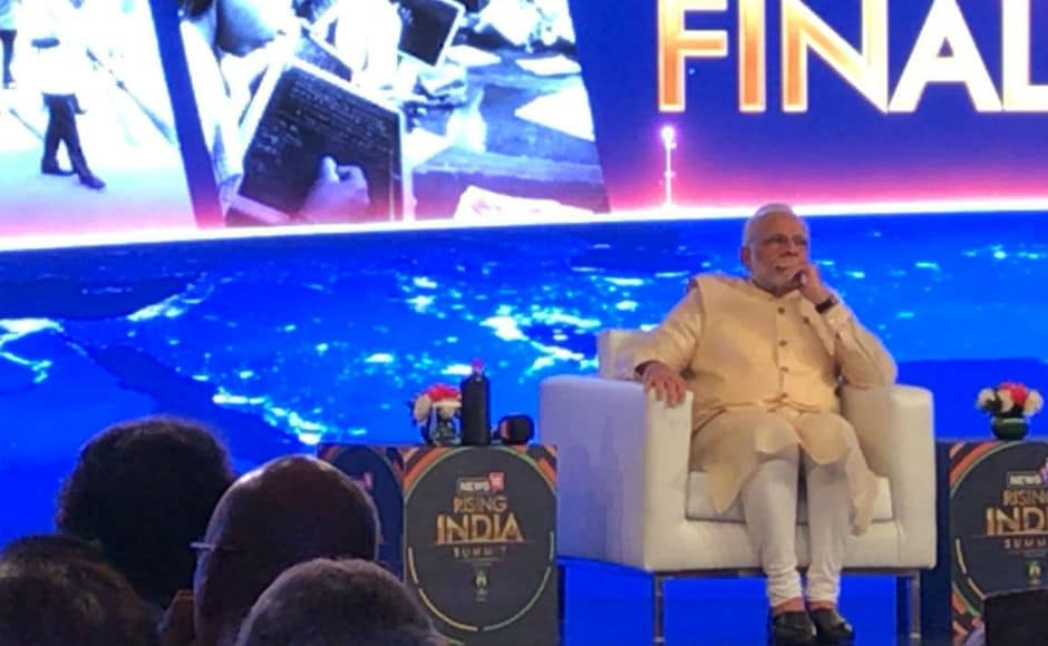 Modi said that his government launched the National Nutrition Mission on International Women's Day. The health of mothers and sisters is a priority for our government, Modi said. News18