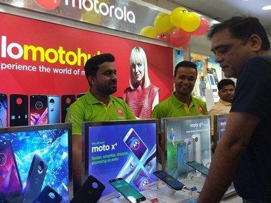 MotoHub Mumbai. @motorolaindia