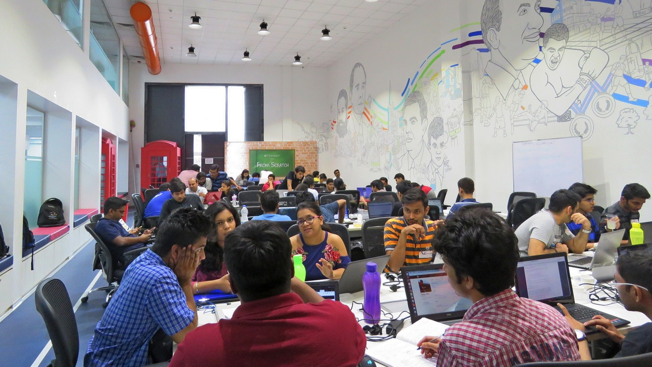 Partnering with NSE for the first time, The Garage provided a 170-seater venue and also made available free Wi-Fi and beverages for the Hackathon