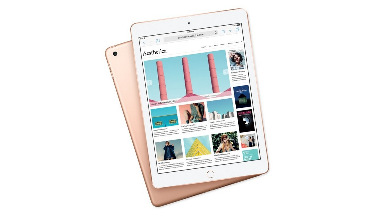 The new Apple iPad now in Gold. Apple