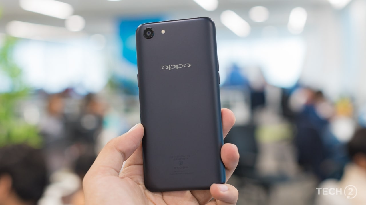 Oppo really didn't expect the competition to grow so quickly. Image: Tech2/Rehan Hooda