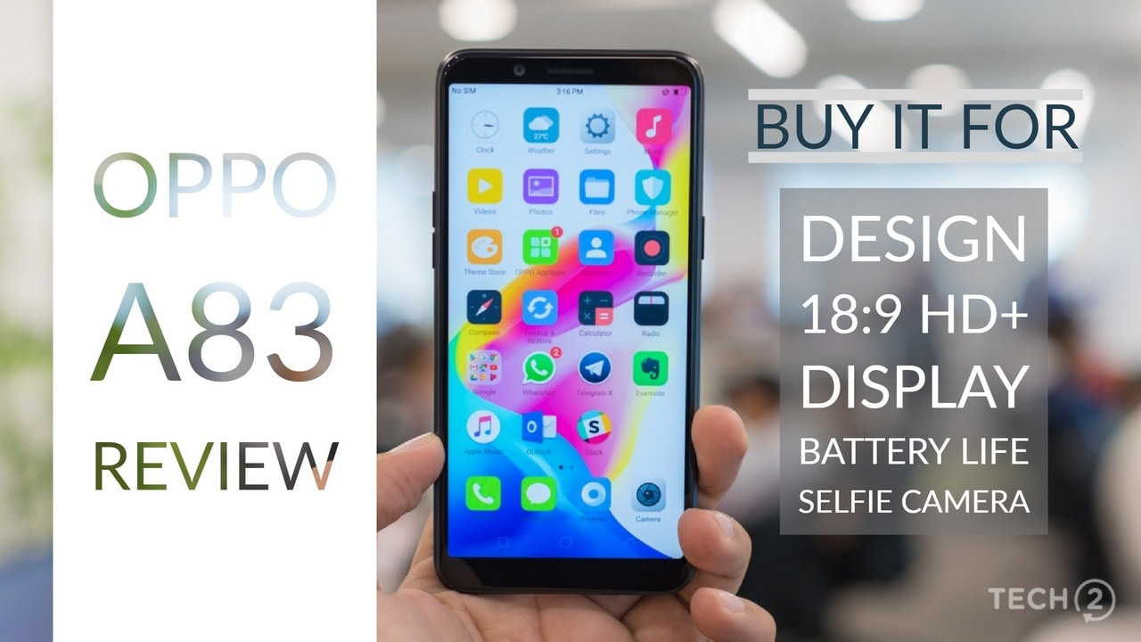 Oppo A83 review: A decent smartphone by itself, but falls