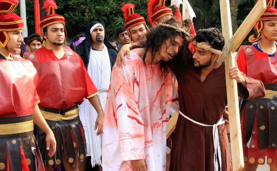 Devotees also took out processions in Mumbai. Christians of varied denominations, from Anglican to Reformed, honour Good Friday with church service and fasting. PTI