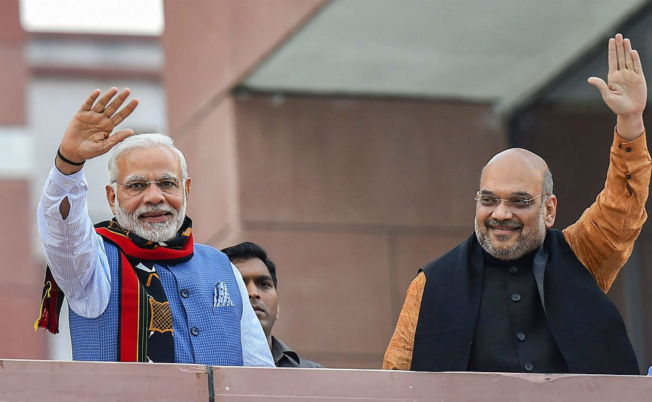 Addressing the public meeting at the BJP headquarters in New Delhi, Modi said that the victory was a result of the sacrifices that party workers had made for their political ideologies. PTI