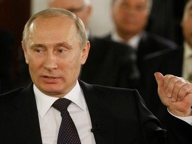 File image of Vladimir Putin. Reuters