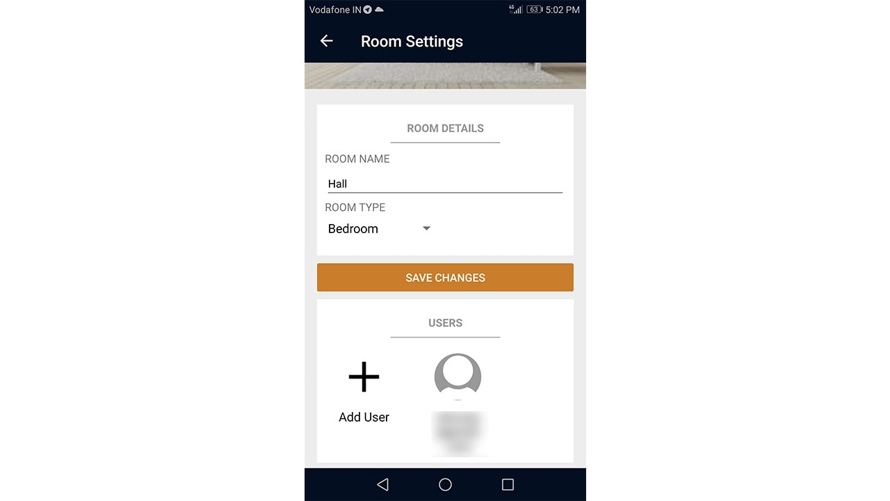 Add a room, switch name, and a user. Image: Tech2