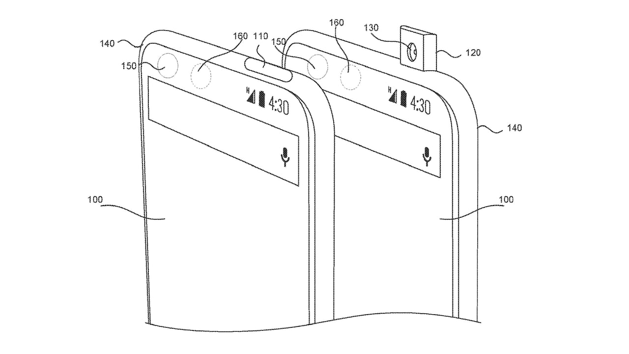 Essential had filed a patent for a pop-up camera back in 2016. Image: Google