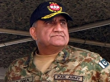 Pakistan Army chief Qamar Javed Bajwa. PTI