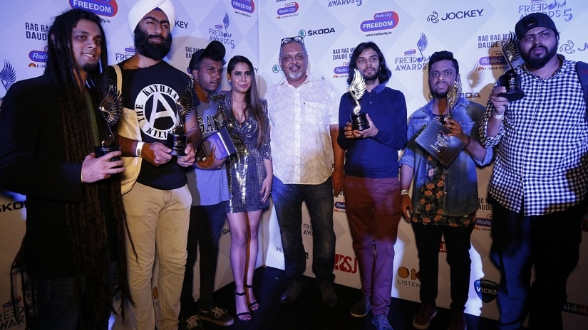 Winners of the recent Radio City Freedom Awards
