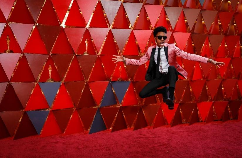 90th Academy Awards - Oscars Arrivals - Hollywood, California, U.S., 04/03/2018 - Darrell Britt-Gibson. REUTERS/Carlo Allegri - HP1EE3501YHM8