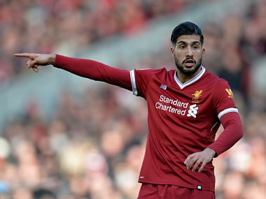 """File image of Emre Can REUTERS/Peter Powell EDITORIAL USE ONLY. No use with unauthorized audio, video, data, fixture lists, club/league logos or """"live"""" services. Online in-match use limited to 75 images, no video emulation. No use in betting, games or single club/league/player publications. Please contact your account representative for further details. - RC13D5A6A9A0"""