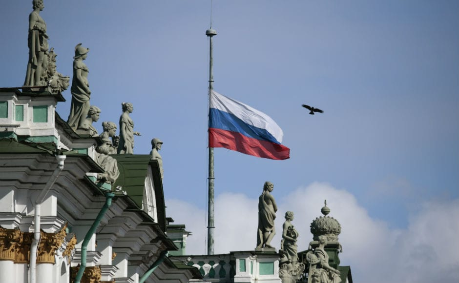 Flags on government buildings across Russia flew at half mast, state TV and radio stations removed light entertainment shows from their schedules, and lawmakers in Moscow observed a minute of silence. Reuters