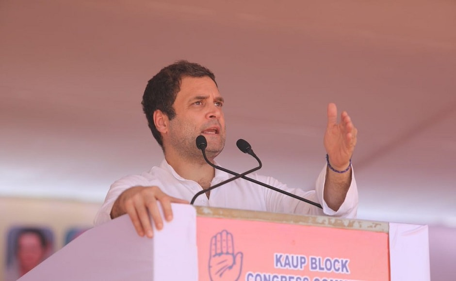 Addressing a party rally at Padubidre in coastal Udupi district, the Congress president said that spoke about social reformers to attack the BJP, which he accused of dividing people. The people of the BJP talk about dharma, but they divide people by pitting one against the other, he said. Twitter @INCIndia