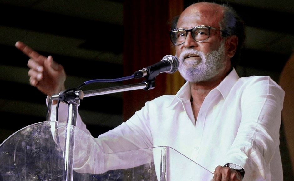 Rajinikanth unveils MG Ramachandran's statue in Chennai, says had to fill leadership vacuum in Tamil Nadu