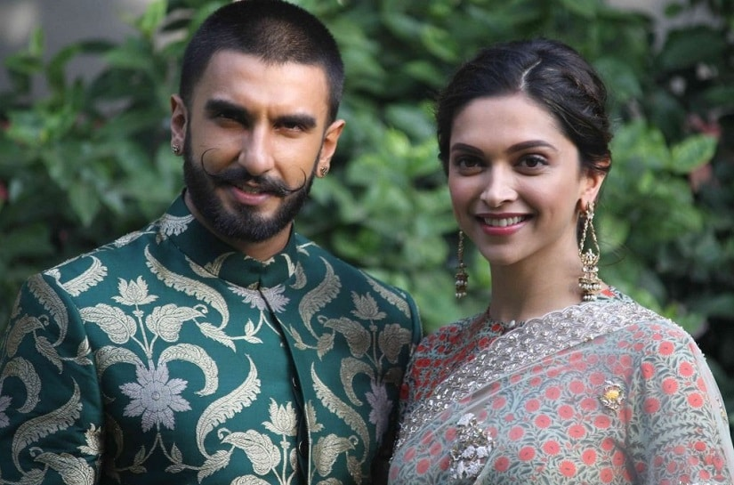 Ranveer Singh and Deepika Padukone. Image from Twitter/@NewsITN