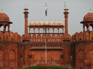 Red Fort, Delhi. Reuters image.