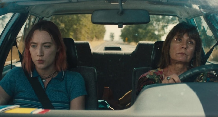 Both Saoirse Ronan and Laurie Metcalf deliver magnificent performances in Lady Bird