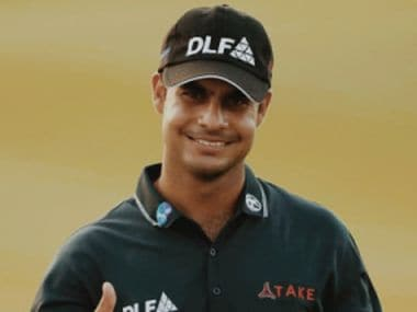 File image of Shubhankar who scored a three-over 75 on the final day of India Open. Courtesy: Twitter