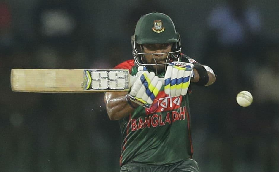 Sabbir Rahman posted a useful innings of 30. AP