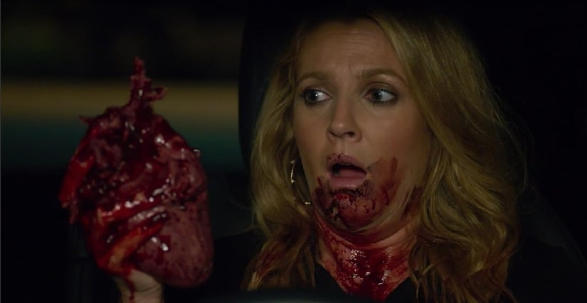 Youtube screengrab from the second season trailer of Santa Clarita Diet.