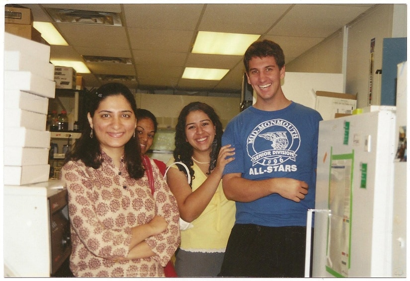 Sonam at McKim lab, where she did a second postdoc. Photo provided by Sonam Mehrotra