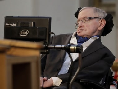File image of Stephen Hawking. AP