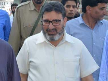 File image of Jammu and Kashmir Education Minister Syed Mohammed Altaf Bukhari. Twitter@jkedumin