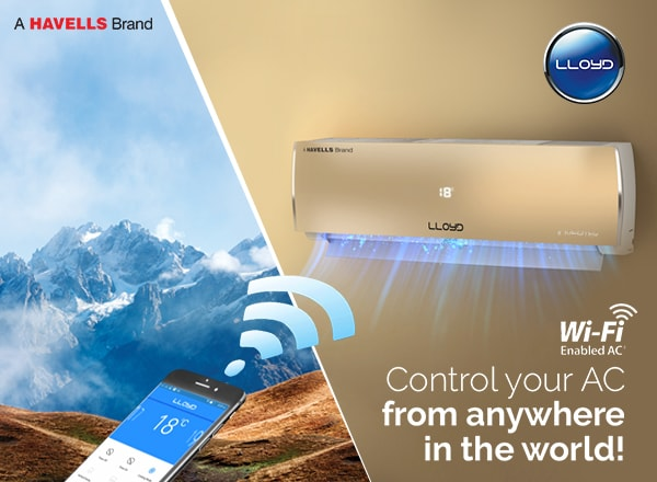 Keep misplacing your AC's remote? Lloyd Wi-Fi AC is just for you then!