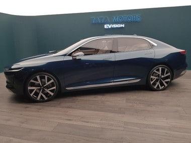 Tata Motors unveils futuristic all-electric EVision Concept