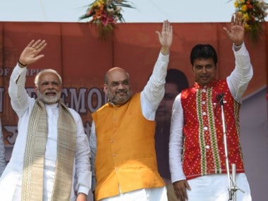 Biplab Kumar Deb sworn-in as new Chief Minister of Tripura: Narendra Modi says govt also for those who did not vote for BJP