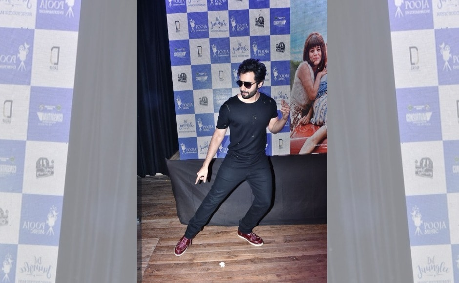 Producer Jackky Bhagnani showed off his moves at the event. He is producing the film.