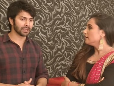 Varun Dhawan tells Rani Mukerji his 'Hichki moment': 'Froze when I walked onstage for the first time'