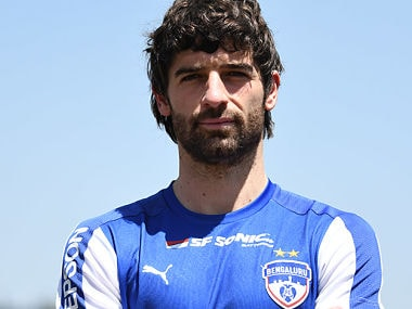 Bengaluru FC new signing Victor Alonso. Image Courtesy: Bengaluru FC official website