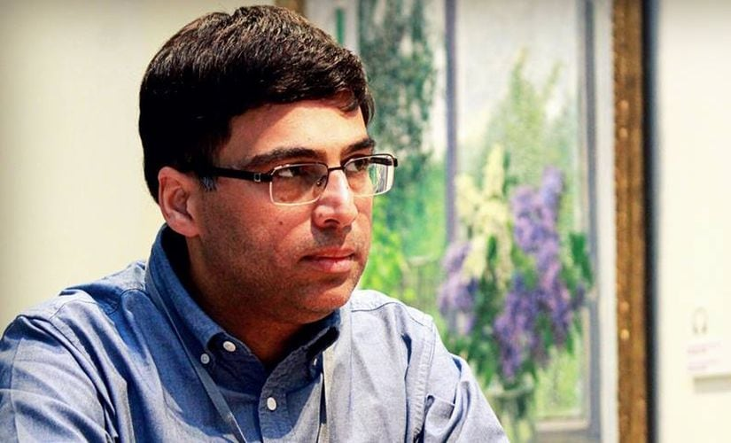 Six rounds into the tournament, Viswanathan Anand has joined Shakhriyar Mamedyarov in tournament lead. Image Courtesy : Amruta Mokal