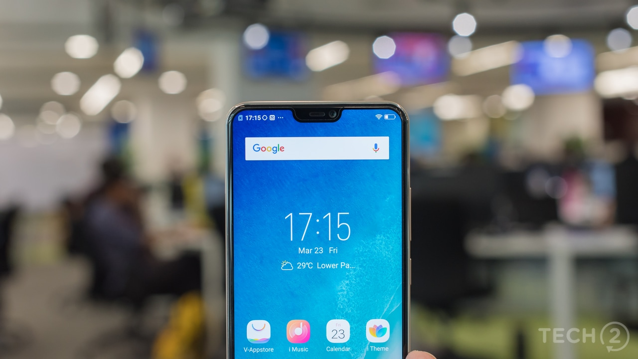 Vivo V9 First Impressions Influence Of Iphone X Is Strong As It Speaker Bluetooth Ori Image Tech2 Rehan Hooda