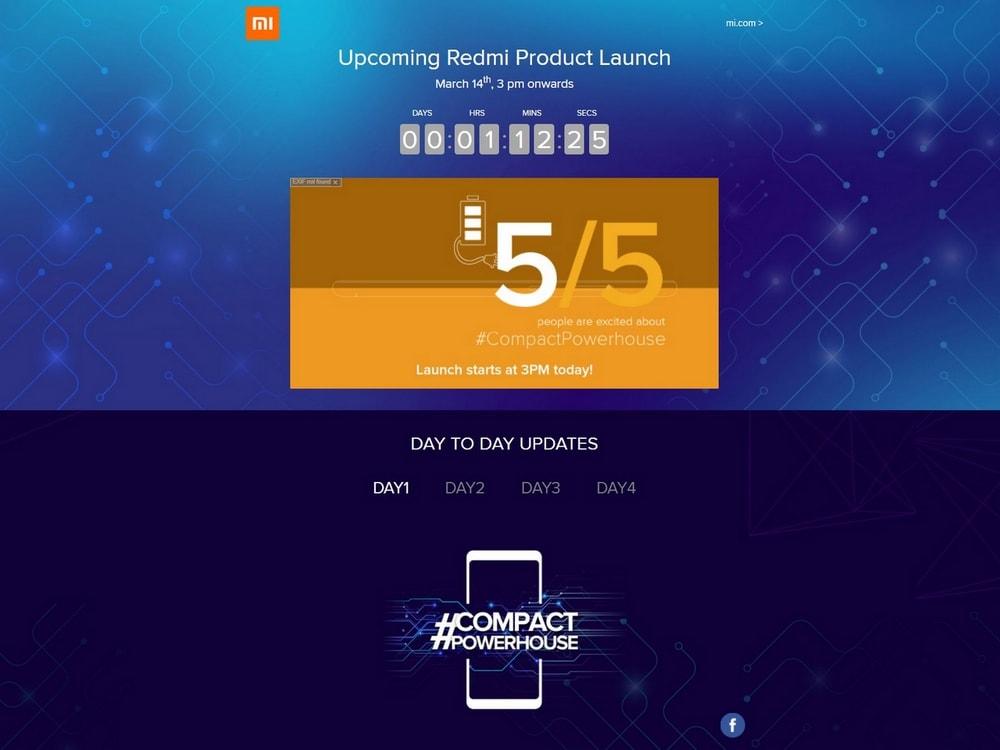 Xiaomi Redmi 5 launch 4x3