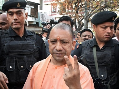 File image of Uttar Pradesh chief minister Yogi Adityanath. PTI