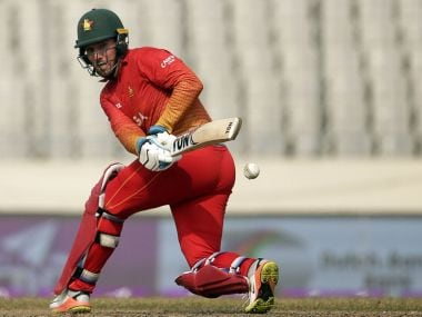 Zimbabwe failed to qualify for the 2019 ICC World Cup after losing to UAE in Qualifiers. Image Courtesy: Twitter/@ICC