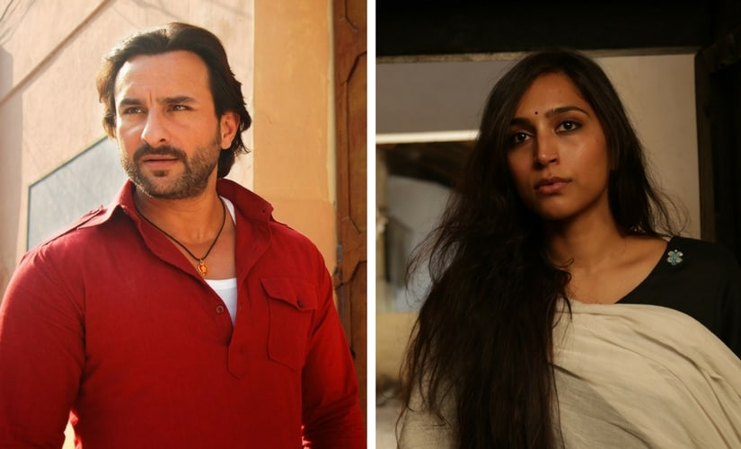 Saif Ali Khan and Zoya Hussain/Image from Twitter.