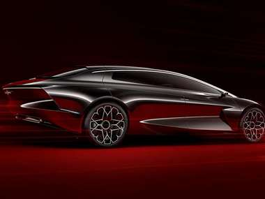 Aston Martin previews the state-of-the-art, electric and autonomous Lagonda Vision Concept at the Geneva Motor Show
