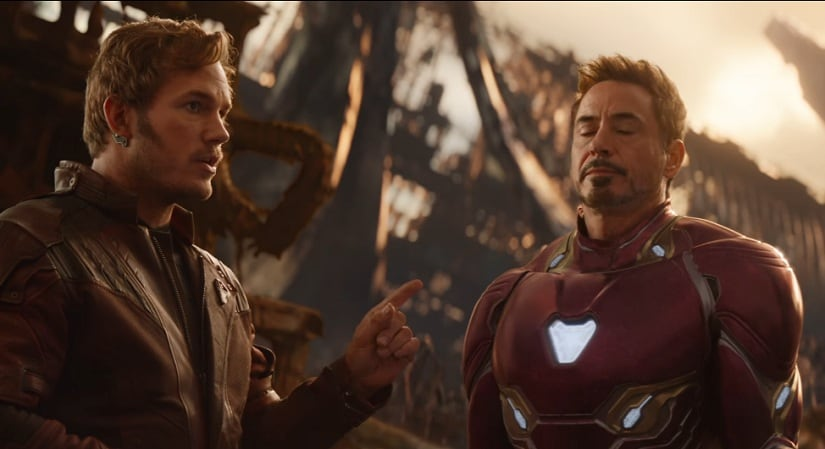 Still from the Avengers: Infinity War trailer. Image from YouTube