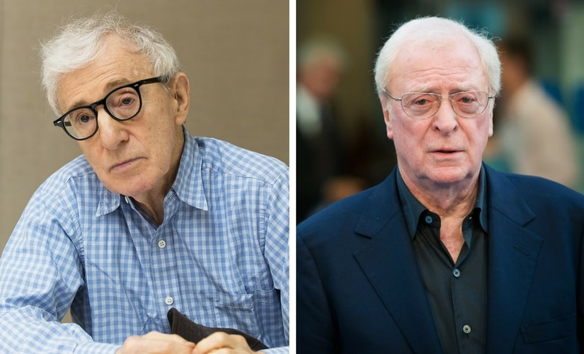 Woody Allen and Michael Caine/Image from Twitter.