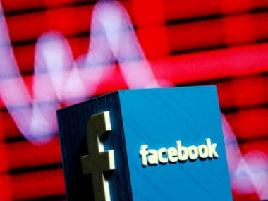 Facebook. Image: Reuters.