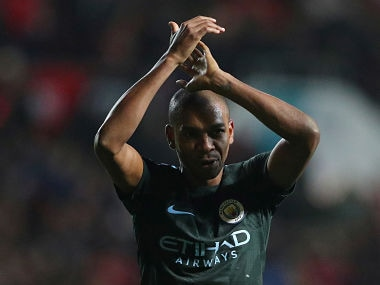 File image of Manchester City's Fernandinho. Reuters