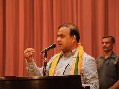 File image of Himanta Biswa Sarma. Twitter @himantabiswa
