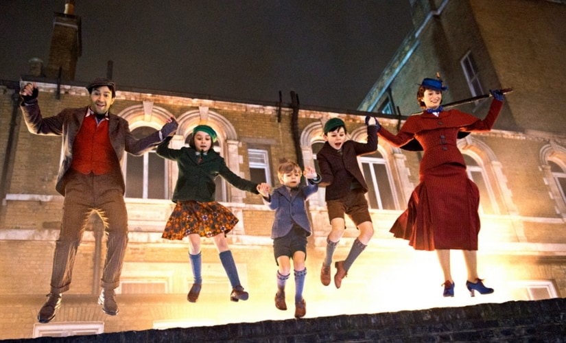 A still from Mary Poppins Returns/Image from Twitter.