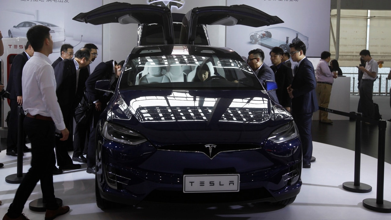 Tesla cutting prices of the Model X and Model S in China after taking tariff hits