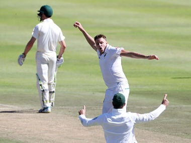 South Africa vs Australia: Morne Morkel takes his 300th Test wicket as Proteas remain on top on Day two