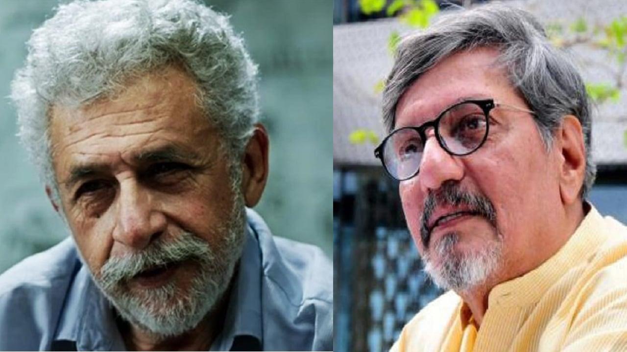 Naseeruddin Shah and Amol Palekar