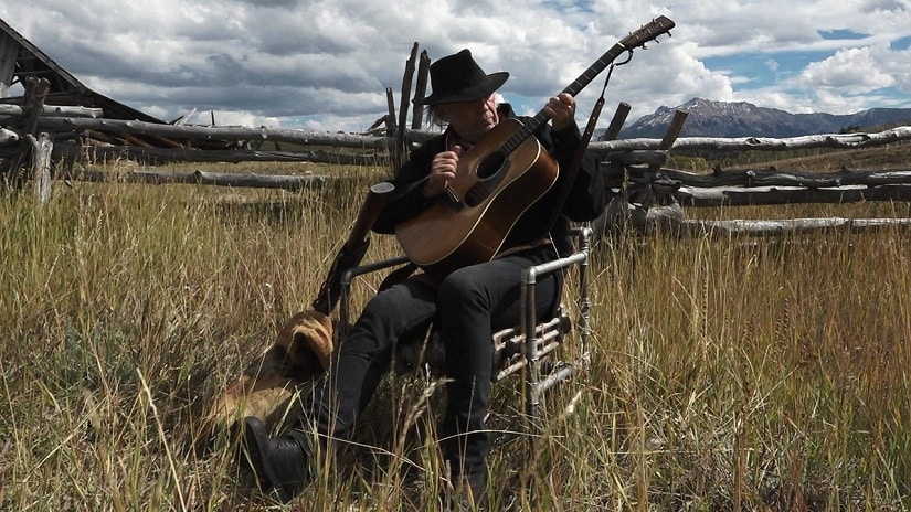 Neil Young in Paradox. Netflix